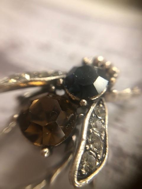 Bejeweled Bee Pin