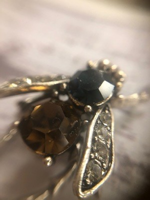 Bejeweled Bee Pin