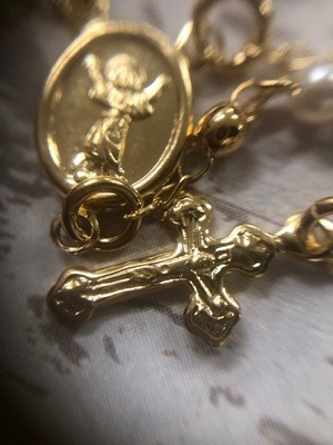 GD-Rosary Necklace
