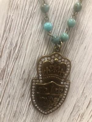 Sisilia Turk Medalion Necklace