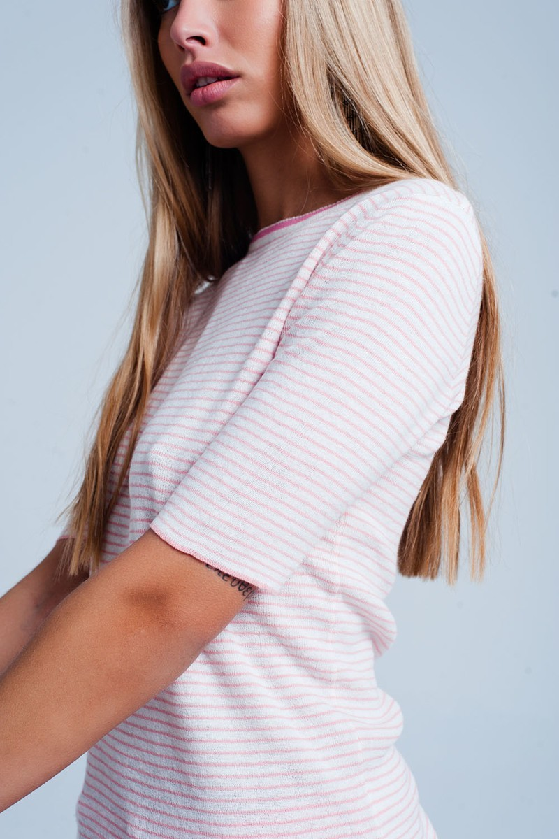 Hampton Candy Knit Top