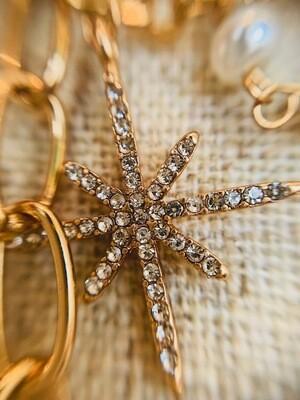 Celestial  Star Necklace