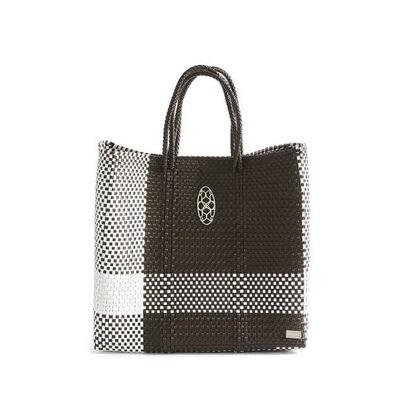 Oaxaca Brown/White Tote Bag