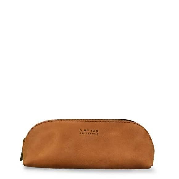 Camel  Leather Pencil Case