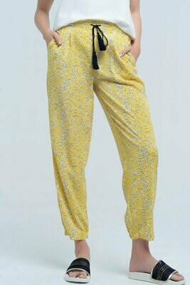 Yellow Resort Pant