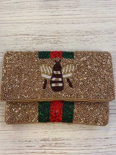 Small Bee Clutch