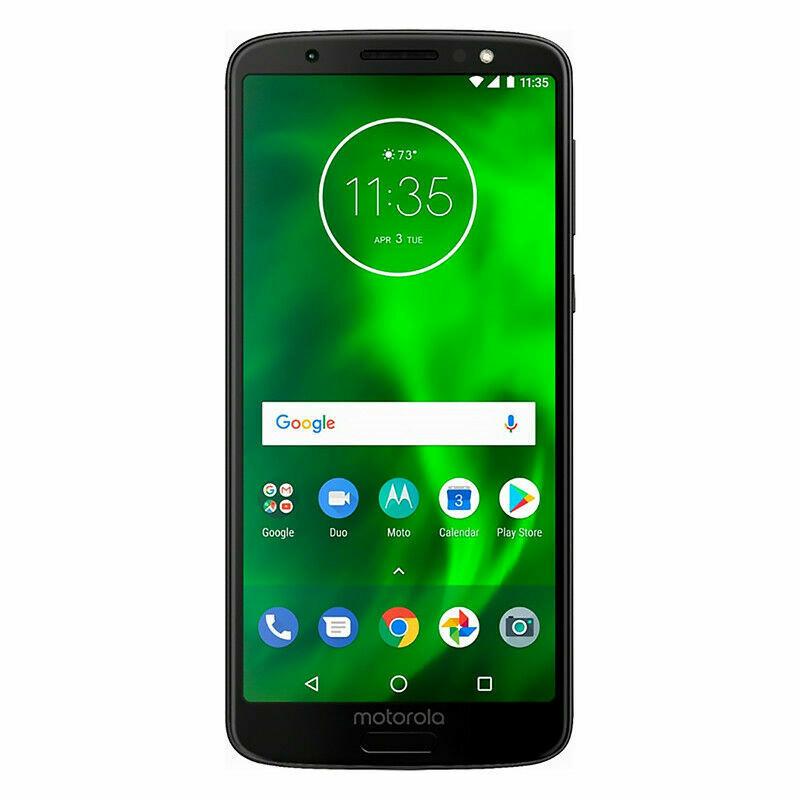 Unlocked Motorola Moto G6 XT1925-6 32GB Black GSM CDMA Smartphone