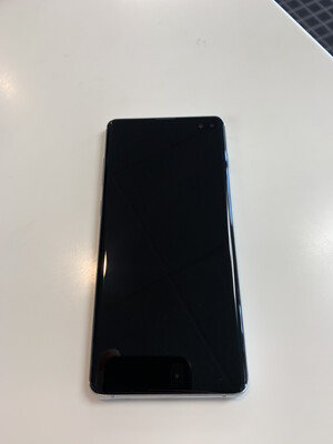 Prism White Galaxy S10+ (13th & West) (Works on all carriers)