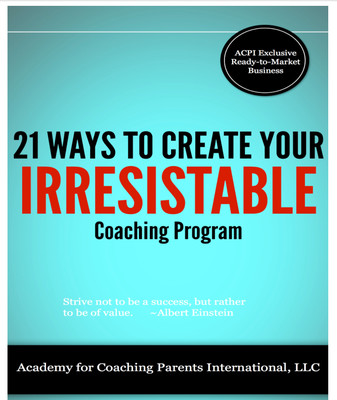 21 Ways To Create Your Irresistible Coaching Programs-Ebook