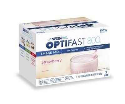Strawberry Powder Optifast 800