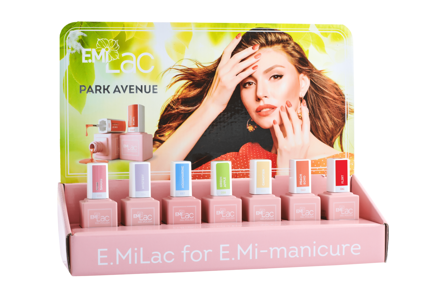 Display E.MiLac Park Avenue+Set