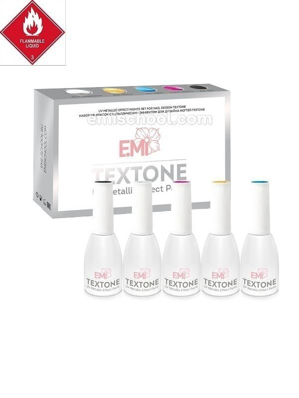 UV Metallic Effect Paints set TEXTONE
