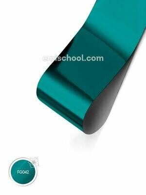 Foil glossy Blue Topaz, 1.5 m
