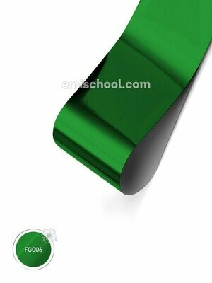 Foil glossy Green, 1.5 m