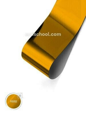 Foil glossy Pure Gold, 1.5 m