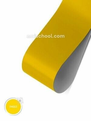 Foil matte Yellow, 1.5 m