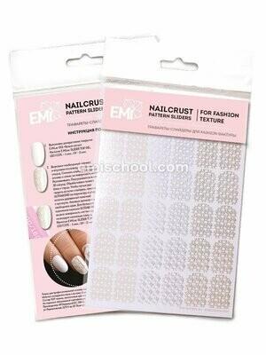 NAILCRUST Pattern Sliders Fleur #26