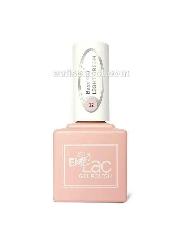 E.MiLac Base Gel Light Cream #12