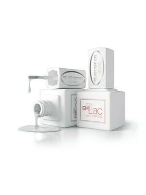 NEW E.MiLac Velvet  Mat Top Gel No Wipe 9 ml.