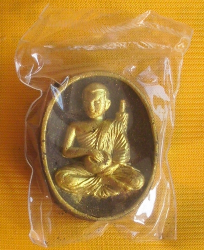Pra Sivali Maha Lap Jok Badtr Fang Takrut Ngern 3 Dork (3 Silver Takrut) special edition with Prataat Sivali relics - Luang Phu Nong Tammachodto 2552 BE