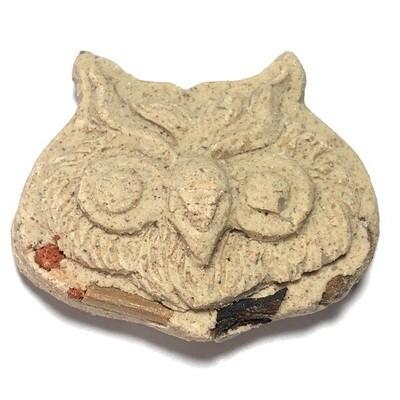 Nok Terd Ter Riak Sap (Ongk Kroo) - Lucky Money Owl for Wealth, Treasures and Gambling Fortunes - Phu Kroo Noo (Kalasin)