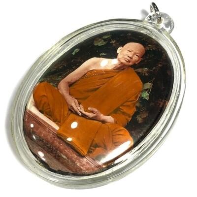 Locket Run Raek 'Run Dtraimas Perd Loke' Khanad Yai (JUMBO size limited first edition) Luang Phu Pa Atiwaro Wat Bua Rarom Sri Saket