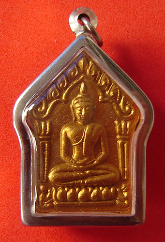 Khun Phaen Prai Kumarn - Nuea Wan 108  2 Takrut Sariga Tong Daeng - 'Prai Burapa' edition - Empowered by LP Sakorn, LP Gliang, LP Somkid, LP Foo and LP Sin - casing included