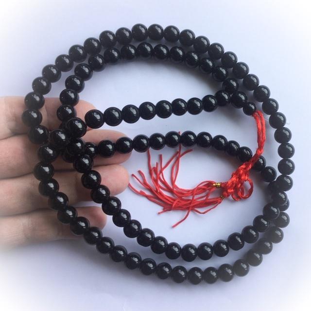 Prakam Suad Montr stor størrelse Beads 38 tommer buddhistiske-7905