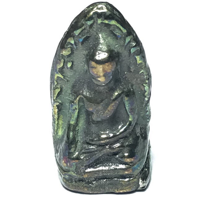 Pra Rod Lampun Lek Lai Nam Neung See Peek Malaeng Tap - Luang Por Huan - Wat Putai Sawan 2548 BE