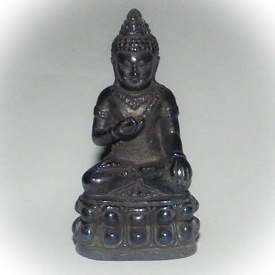 Pra Avalokiteshvara Bodhisattva Kring Sri Vichai 2549 BE - Nuea Maekasit Blessed in Pillarstone Shrine of Surat Thani - Luang Por Prohm Wat Ban Suan