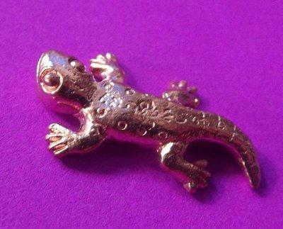 Dtugkhae Aathan Maha Lap (sorcerous lucky lizard) - 'Run Pokasap' (Wealth and Belongings Edition) 2554 BE (2011)  - Luang Por Lum - Wat Samakee Tam
