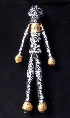Hun Payont Baeb Boran Dtua Yai (Ai Geng Gang) - Jumbo Size 11.5 Inches high Multi-Purpose Ghost Soldier for Gambling and protection against thieves, danger, black magic - Luang Phu Bpun Tammabalo