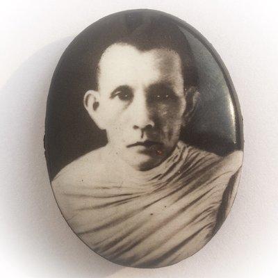 Locket Pim Yai Ongk Kroo Luang Por Guay Wat Kositaram - Guru Monk Lineage Worship Amulet  - Ajarn Meng Khun Phaen