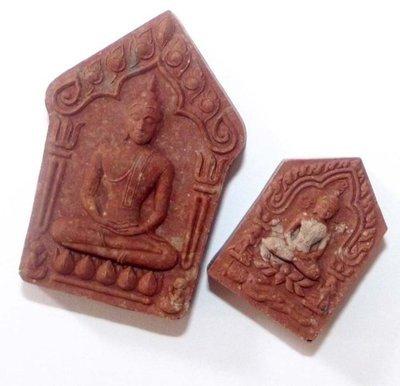 Pra Khun Phaen Prai Kumarn Taep Nimit Gammagarn Set - Nuea Sabu Luead (Pink Prai Kumarn Powders of LP Tim) - Building of Uposadha Wat Taep Nimit Temple Edition -Luang Por Sakorn - Wat Nong Grub