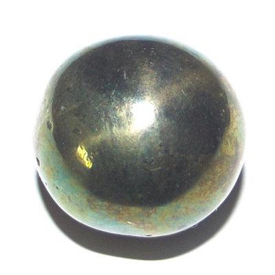Lek Lai Sphere See Tong Pla Hlai (Gold-Green) - Luang Por Huan - Wat Putai Sawan