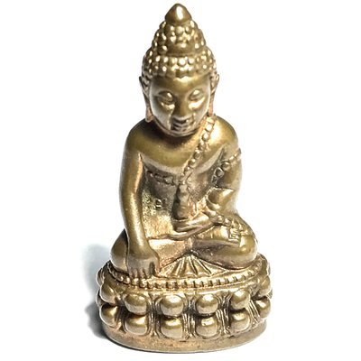 Pra Kring Bovores YSS-90 2546 BE Nuea Nava Loha 90th Birthday Edition Medicine Buddha - Wat Bovornives Only 1999 Made