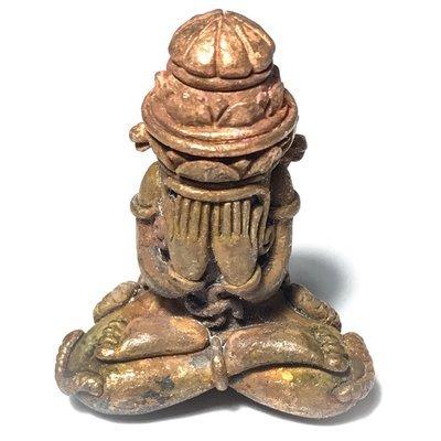 Pra Pid Ta Pang Pagan Run Wai Kroo Jatukam Ramataep 2549 BE - Nuea Tong Daeng Thuean - 99 Monks 2 Blessings - Wat Ruak