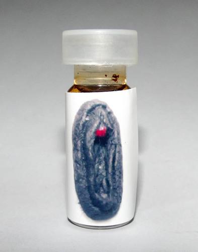 Nam Man Prai Jantra Maha Yoni (Sacred Vulva Prai Oil + 58 Ghosts Powders) - Pra Ajarn Somchart Bparimudto (Lopburi) 2555 BE