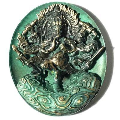 Rian Pra Tanabodee Maha Sethee Champol Vaisaravana Vajrayana Deity of Wealth Blessed at Borobudur Indonesia