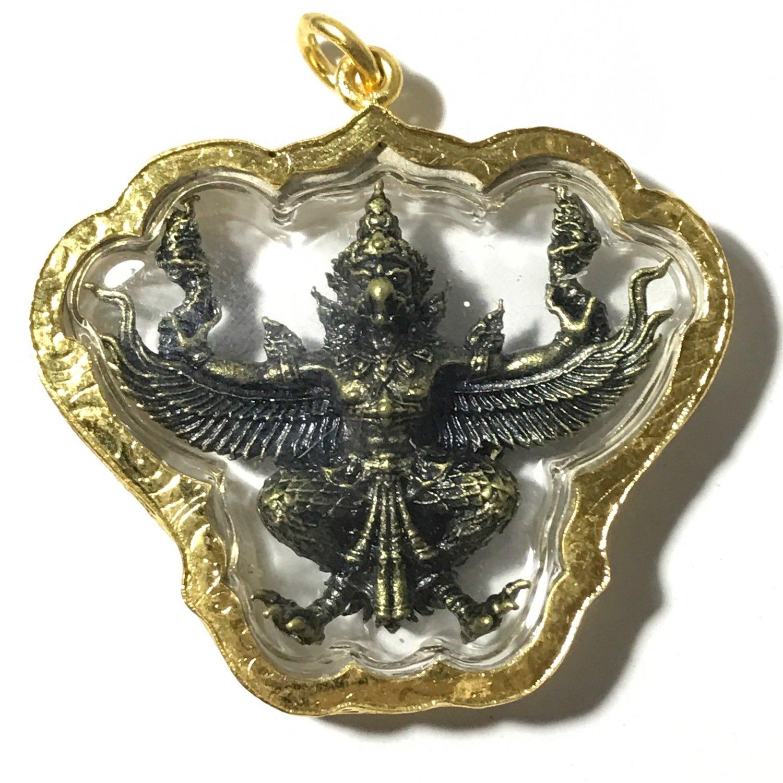 Paya Krut Yud Nak Baramee Sethee - Garuda Amulet for Status, Invincibility  and Power - Wat Krutaram (Ayuttaya) 2560 BE