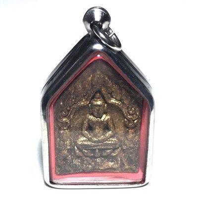Khun Phaen Prai Kumarn  Ongk Kroo Pong Prai Maha Sanaeh Yant Grao Paetch 16 Takrut Look Namo + Pearl 5 Top Masters of Maha Sanaeh
