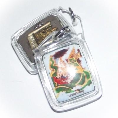 Taep Pragaes Deity locket - Pra Kroo Pisit Athagarn, Wat Pratat Noi 2552 BE Free Casing
