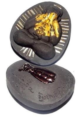 Pra Pid Ta Jumbo Ngern Larn Ongk Kroo - Puttakun Powders with Bees Nest - 28 Takrut + Treasure Bee - 'Serb San Dtamnan Luang Por Noi' Edition 2555 BE - Luang Por Jerd - Suan Badibat Tam Po Sethee