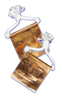 Phaen Yant Hneeb Maha Sanaeh Dtamrap Boran Lanna Dork Kroo Jarn Nork Nai (Ancient Lanna Style folded Yantra Foil Takrut) 'Sang Hor Chan' 2555 BE Edition - Kroo Ba Lerd - Wat Tung Man Dtai