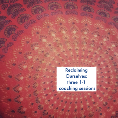Coaching 3 Session Package (60 min each)