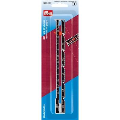 Zoom- en naadmeter aluminium