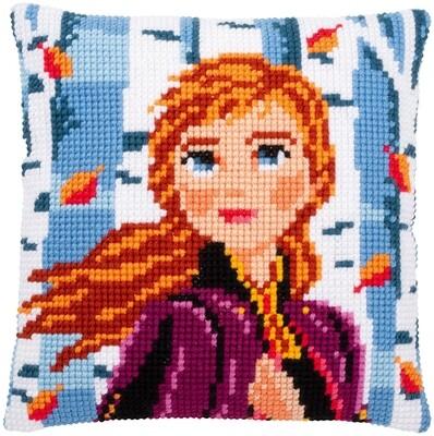Kruissteek kussen Disney Anna II