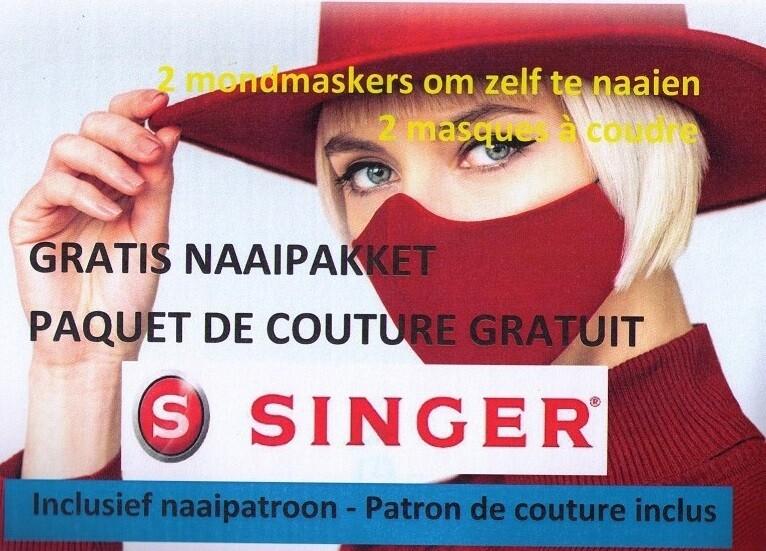 Singer Stylist 9100 + gratis mondmasker pakket