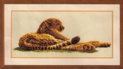 Kruissteek Luipaard