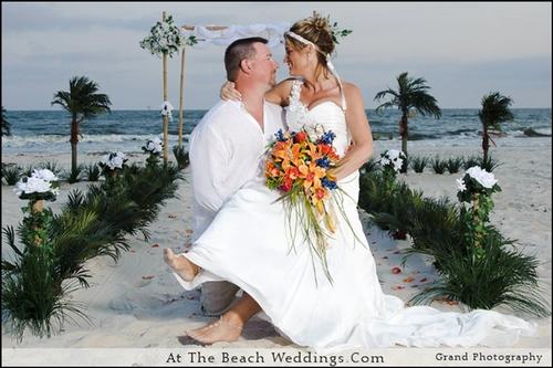 Bamboo Palms  - Beach wedding Package 00024